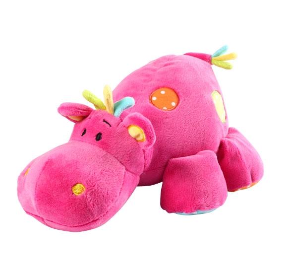 Edukačná plyšová hračka Baby Ono - Hippo