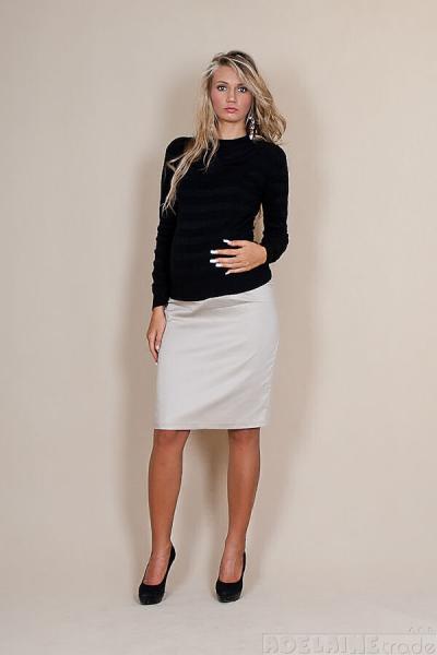 Tehotenské sukne Melanie - béžová