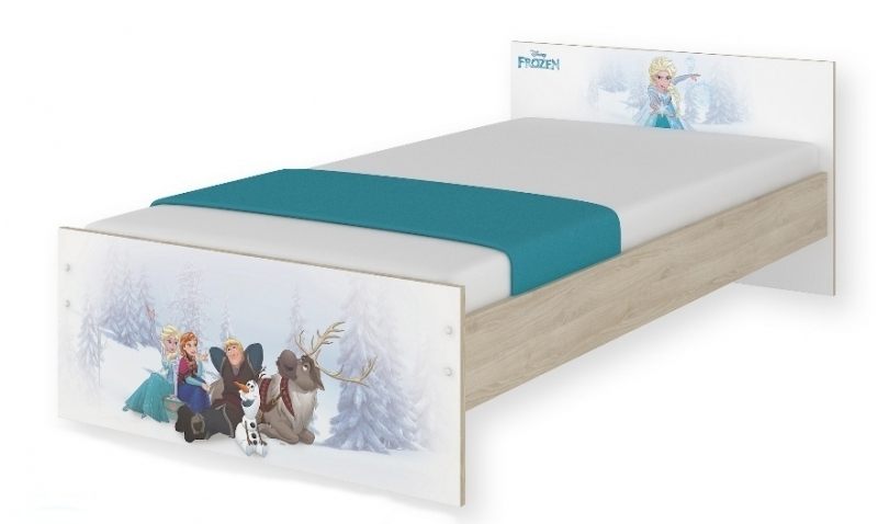 Detská junior posteľ Disney - Frozen, 180x90 cm