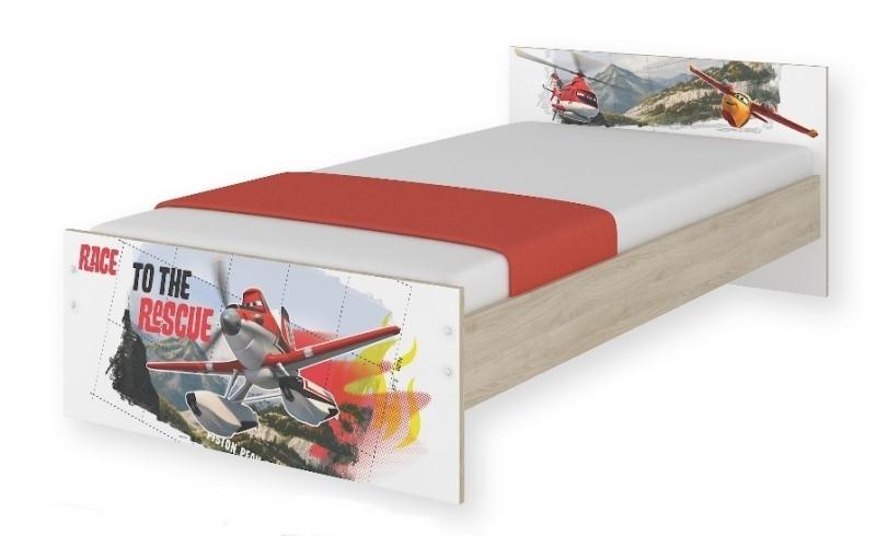 Detská junior posteľ Disney 180x90cm - Letadla