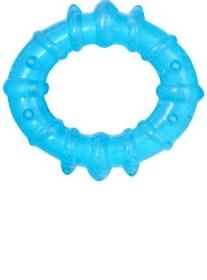 Hryzátko gélové Baby Ono oválne - Modré