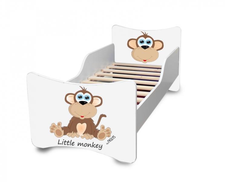 Detská posteľ Little Monkey, 140x70