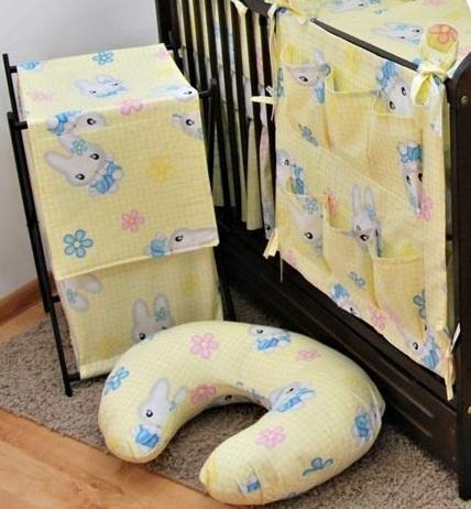 Dojčiace vankúš Darland - Králíček žltý