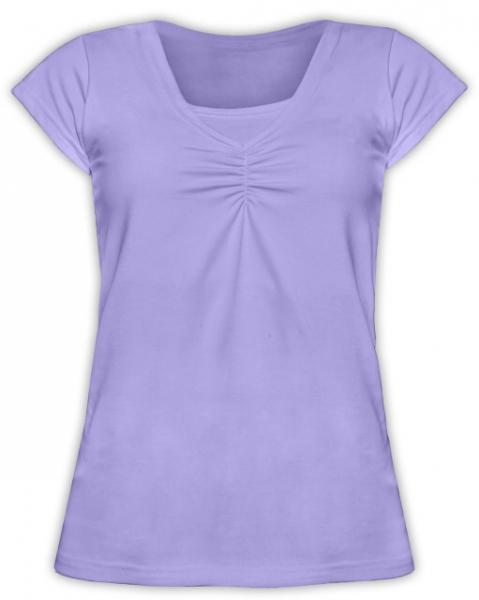 Dojčiace tehotenské tričko KARIN - šeríkové