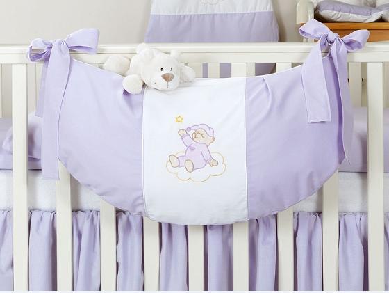 Luxusné vreckár na hračky - Mraček lila