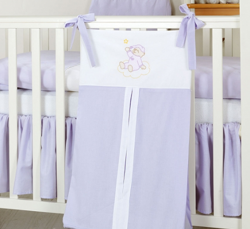 Luxusné vreckár na plienky - Mráčik lila