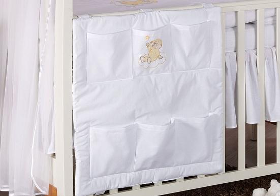 Luxusné vreckár - Mráček biely