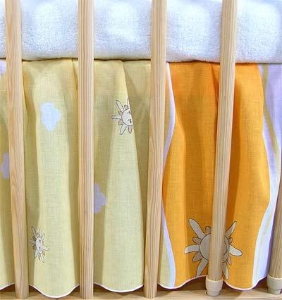 Darland Krásny volánik pod matrac - Mestečko pomaranč