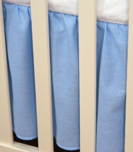 Mamo Tato Krásny volánik pod matrac - Srdiečko modré