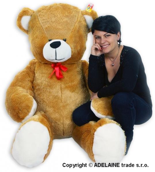 Plyšový Medveď Baby Nellys - Sv. Hnedý - 180cm