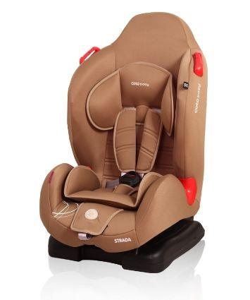 Coto Baby Autosedačka Strada 9-25kg - káva 11