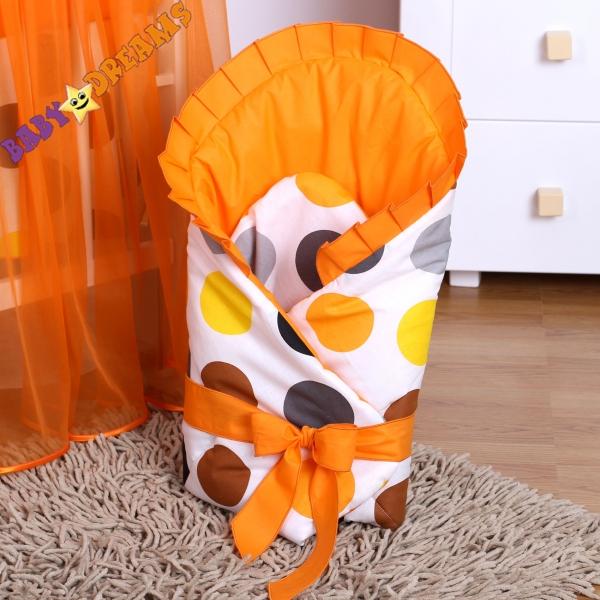 Zavinovačka Bubble jeseň - oranž