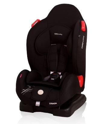 Coto Baby Autosedačka Strada 9-25kg - čierna 01