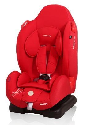 Coto Baby Autosedačka Strada 9-25kg - červená 02