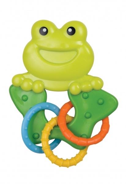 Hrkálka, hryzátko Canpol Babies - Žabka