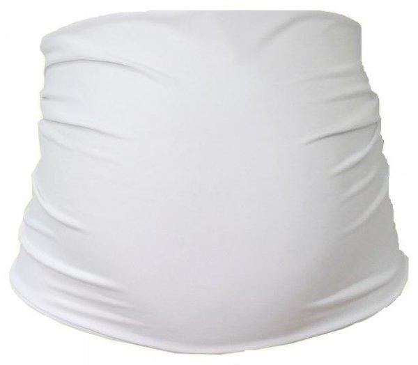 Be MaaMaa Tehotenský pás - biela, B19