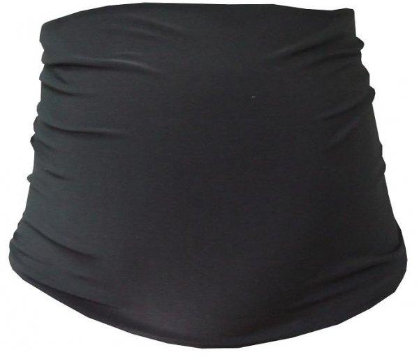Tehotenský pás - čierna