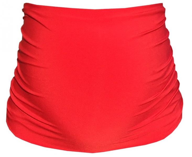 Tehotenský pás - červená