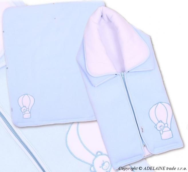 Multifunkčná deka 3v1 MACKO - modrá