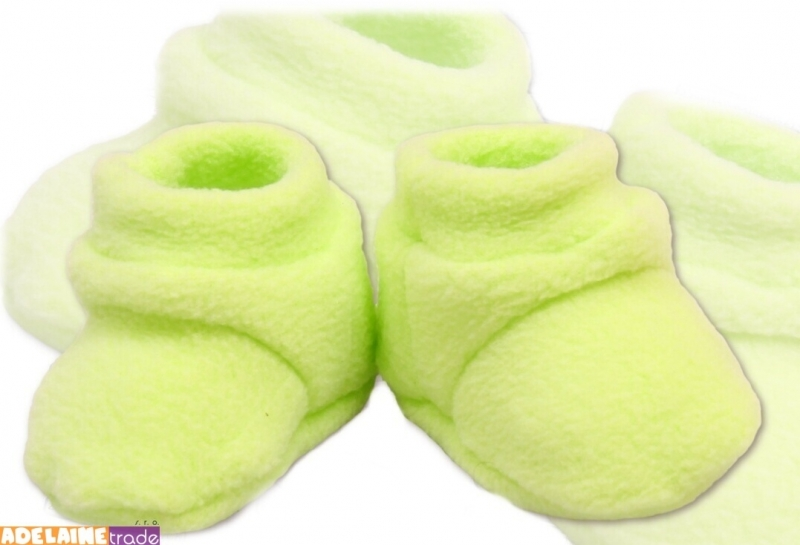 Topánočky / ponožtičky POLAR - zelené