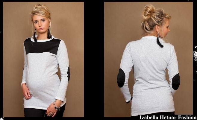 Be MaaMaa Tehotenské tričko / blúzka Dita
