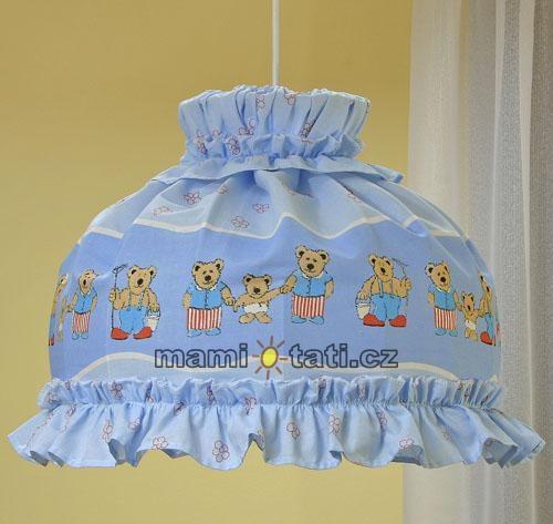 Luster do detskej izbičky - Mestečko modré