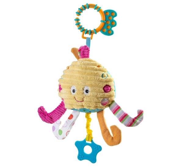 BabyOno Vibračné hračka Chobotnice