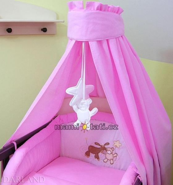Luxusný 5D set CL - Oslík ružový