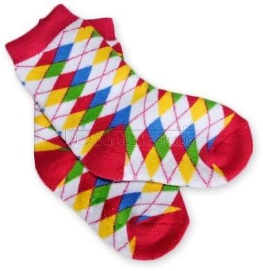 BabyOno Bavlnené protišmykové froté ponožky 12m + - KARKO farebné