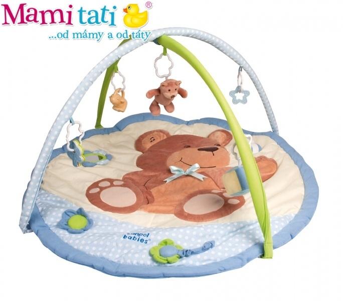 Hracia deka Canpol Babies - Medvedík