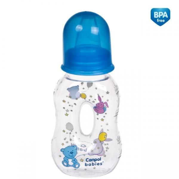 Fľaštička 120ml - chlapčenské farby