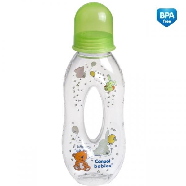 Fľaštička 250ml Canpol Babies - neutrálne farby