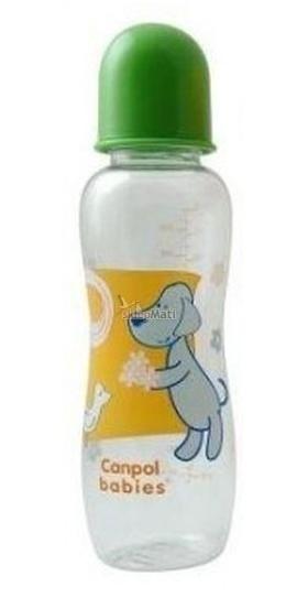 Fľaštička 330ml Canpol Babies - neutrálne farby