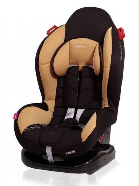 Autosedačka Coto Baby Swing 9-25kg, 2020 - čierna, kávová