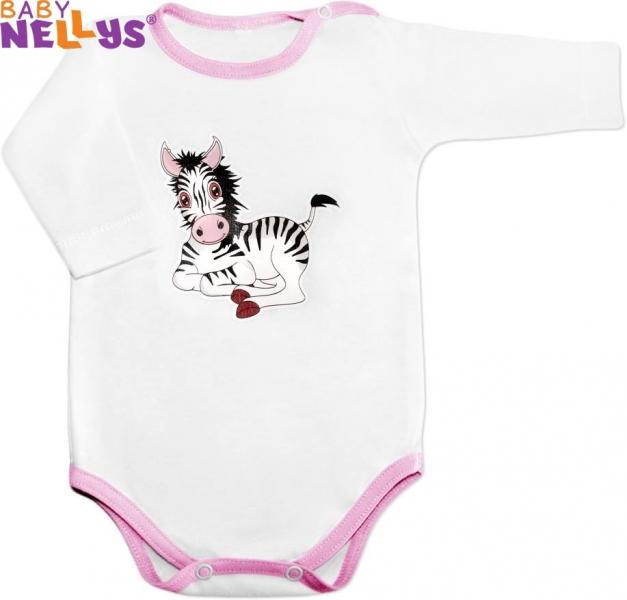 Body dl. rukáv - Zebra Baby Nellys ®