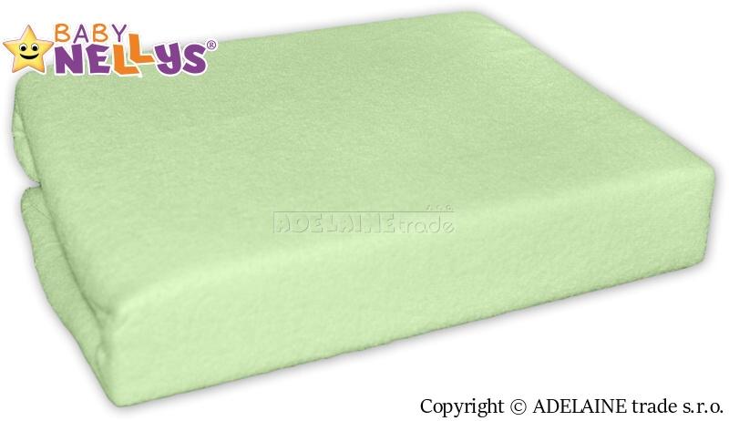 Nepremokavé prestieradlo Baby Nellys ® - Zelená-120x60