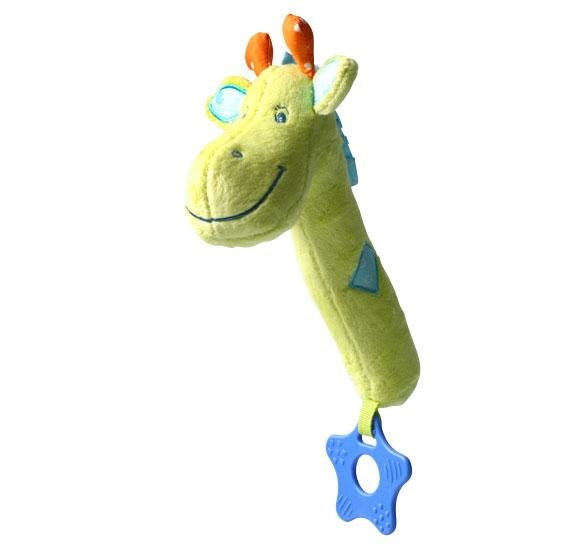 Edukačná hračka Baby Ono - pískací - žirafka