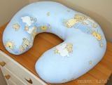 Dojčiace vankúš - Rebrík modrý