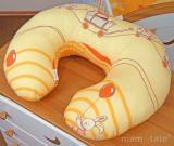 Dojčiaci vankúš - Kamaráti v pomaranči