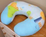 Dojčiace vankúš - Slimák modrý