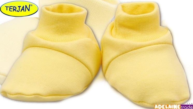 Topánočky / ponožtičky BAVLNA - krémové