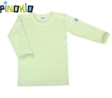 Tričko dl.rukáv Pinokio - zelená, 80 (9-12m)