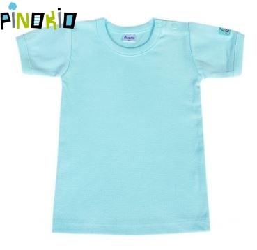 Tričko kr.rukáv Pinokio - modrá