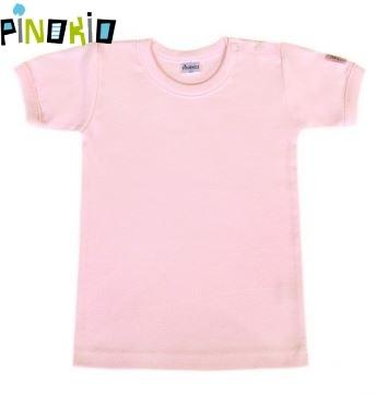 Tričko kr.rukáv Pinokio - ružová