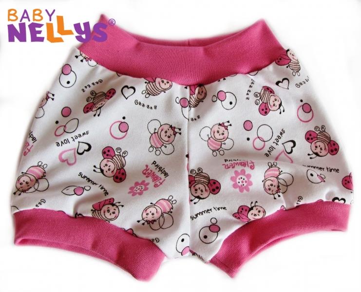 Kraťasky Baby Nellys ® - Lienka