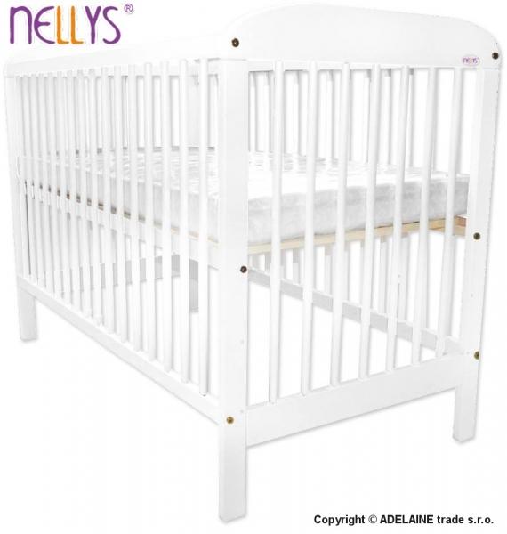 Postieľka Nellys ® Adélka - biela, 120x60