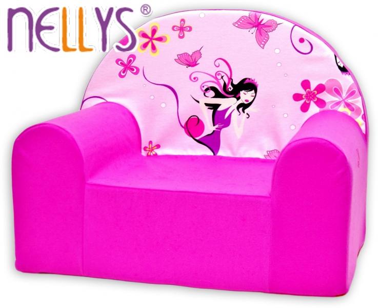 Detské kresielko / pohovečka Nellys ® - Malá čarodejnica