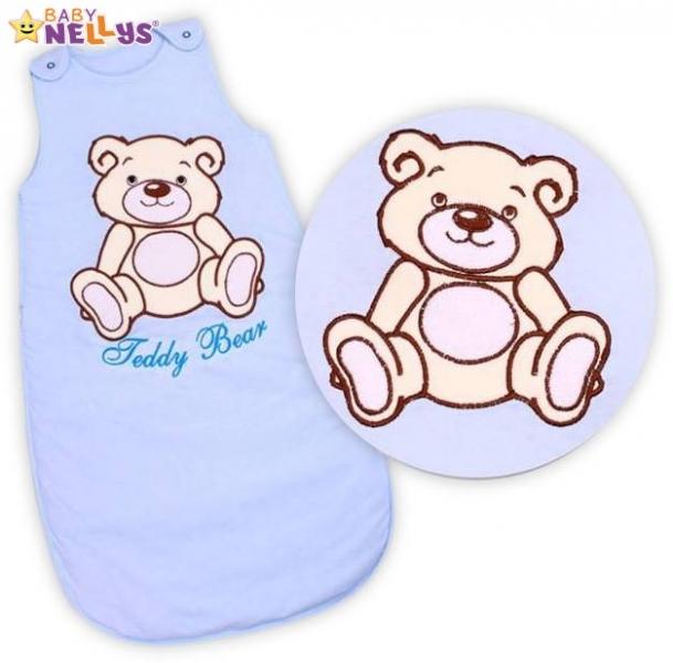 Spací vak Medvedík Teddy Baby Nellys - sv. modrý vel. 1