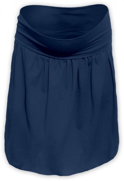 Tehotenská sukňa z úpletu balónová - jeans