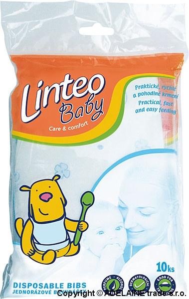 Jednorazové podbradníky LINTEO Baby